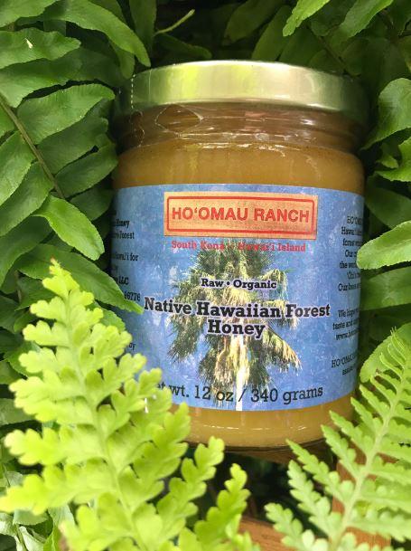 Certified Organic Native Hawaiian Forest Honey